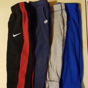 2t pants bundle nike carters fleece striped